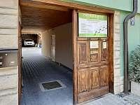Hlavní vchod - ubytování Jeseník