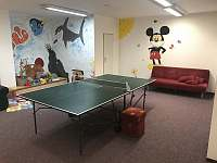 společenská místnost v hlavní budově - apartmán k pronájmu Ramzová