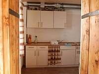 Kuchyň - chata ubytování Malá Morávka