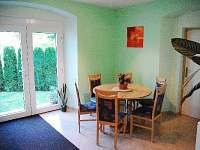 jídelní kout - apartmán k pronájmu Stará Červená Voda