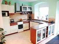 plně vybavená kuchyň - apartmán ubytování Stará Červená Voda