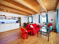 Ap. HOME - obytná kuchyň - pronájem chaty Červená Voda - Šanov