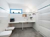 Ap. SUNRISE - koupelna s WC, bidetem a sprchovým koutem - Červená Voda - Šanov