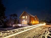 Chata Terezie - zima - ubytování Červená Voda - Šanov