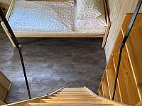 Podkroví (dvě jednolůžka) nad pokojem č.1 - chalupa k pronájmu Velké Vrbno