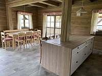 Společenská místnost s kuchyní - Velké Vrbno