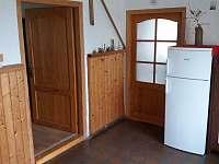 Chodba - chalupa ubytování Třemešná ve Slezsku