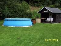 bazén - chata k pronájmu Stará Voda