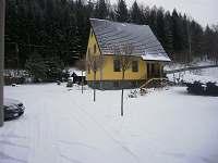 chata v zimě - Stará Voda