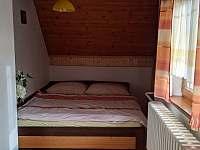 levá ložnice 2 - pronájem chaty Stará Voda