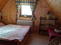 ložnice v podkroví 1 - chata k pronájmu Stará Voda