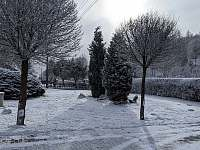 okolí chaty v zimě 2 - k pronajmutí Stará Voda
