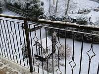 výhled z balkónu levá ložnice - Stará Voda