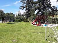 dětské hřiště - pronájem chalupy Horní Heřmanice