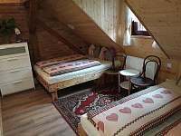 4 lůžková ložnice - pronájem chalupy Štědrákova Lhota