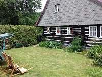 zahrada 2 - chalupa ubytování Králíky