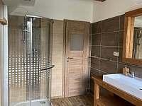 Koupelna - horní apartmán - Stará Voda