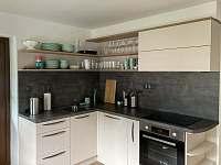 Kuchyňský kout - spodní apartmán - Stará Voda