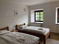 Ložnice 1 - spodní apartmán - ubytování Stará Voda