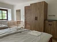 Ložnice 1 - spodní apartmán - Stará Voda