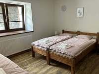 Ložnice 2 - spodní apartmán - Stará Voda