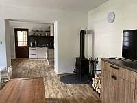 Obývací pokoj - spodní apartmán - Stará Voda