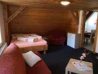 6ti lůžkový apartmán - pronájem chaty Karlov pod Pradědem
