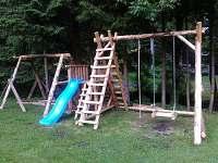 dětské hřiště - chata k pronajmutí Karlov pod Pradědem