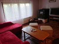 obývací pokoj - chata ubytování Zlaté Hory