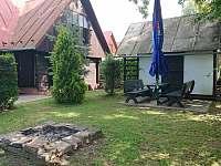 venkovní posezení - chata ubytování Zlaté Hory