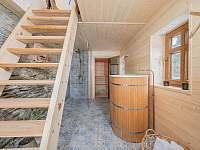 sauna - pronájem chalupy Široká Niva - Skrbovice