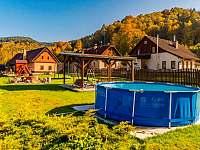 Chalupa Vernířovice bazén - k pronájmu