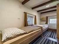Chalupa Vernířovice ložnice -