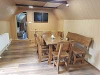 chata Vernířovice jídelna -