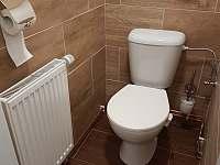chata Vernířovice toaleta -