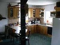 kuchyň - chata k pronájmu Nová Pláň