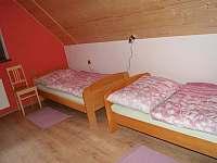 Červená ložnice samostatná lůžka - Horní Orlice