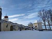 Klášter Králíky 2,5 km na běžkách - Horní Orlice