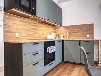 kuchyňský kout - apartmán k pronajmutí Filipovice