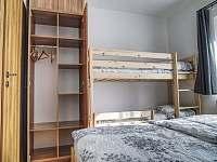 ložnice - apartmán k pronajmutí Filipovice