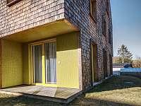 slunná terasa - pronájem apartmánu Filipovice