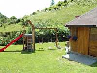 Hřiště pro děti - chalupa k pronájmu Štědrákova Lhota