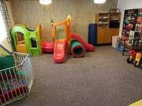 dětská herna - chalupa ubytování Rejvíz