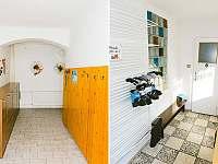Penzion Morava - Chodba, toaleta, předsíň - ubytování Horní Lipová