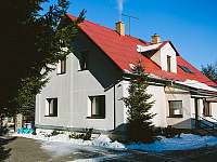Penzion Morava - zimní období - ubytování Horní Lipová