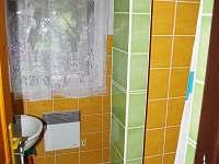 Koupelna - chalupa k pronajmutí Vojtovice