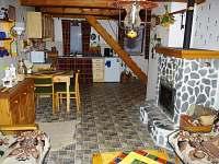 Kuchyňský kout - chalupa ubytování Vojtovice