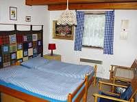 ložnice přízemí - pronájem chalupy Vojtovice
