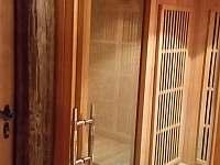 infra sauna - chalupa k pronajmutí Staré Město pod Sněžníkem