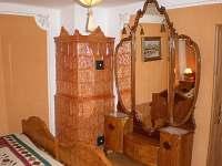 ložnice 1 - pronájem chalupy Staré Město pod Sněžníkem
